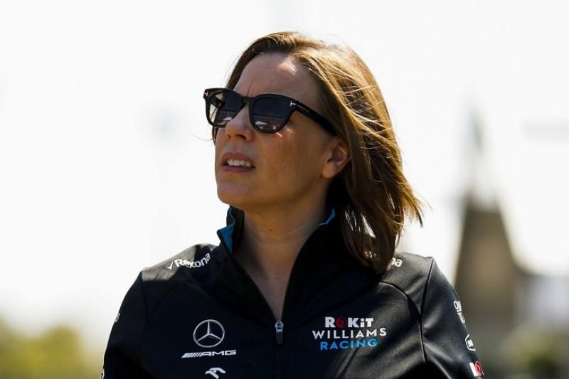 Williams-Abstieg: Claire Williams gesteht Fehler im Management