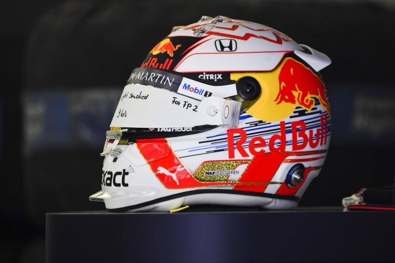 Red Bull: Verstappen darf anderen Helm verwenden als Gasly