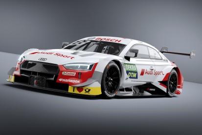 Ganz in Weiß: Audi zeigt das DTM-Design 2019 von Rene Rast