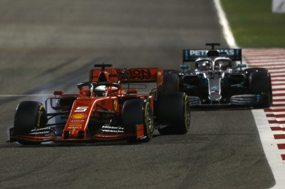 Bahrain: Darum war Hamilton nach dem zweiten Stopp direkt hinter Vettel