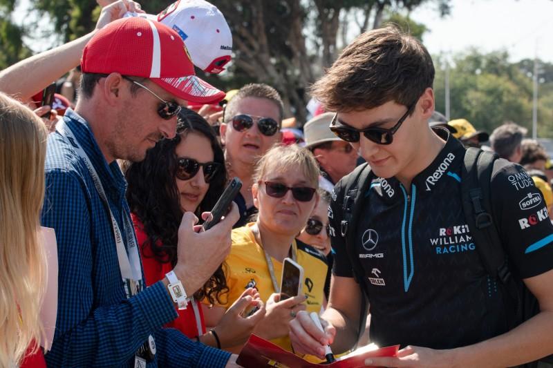 George Russell: Medienrummel in der Formel 1 ist total verrückt