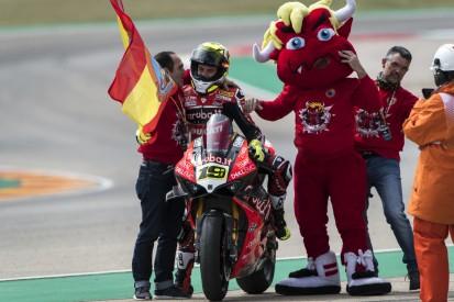 Meilenstein für Ducati: Alvaro Bautista stellt in Aragon 350. WSBK-Sieg sicher