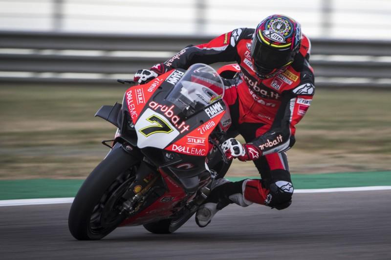 Chaz Davies: Kleines Missgeschick verhindert Ducati-Doppelerfolg
