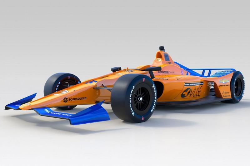 McLaren präsentiert Indy-500-Design für Fernando Alonso