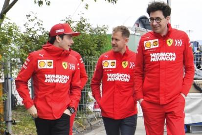 Ferrari-Teamchef Binotto: Vettel hat bessere Titelchancen als Leclerc