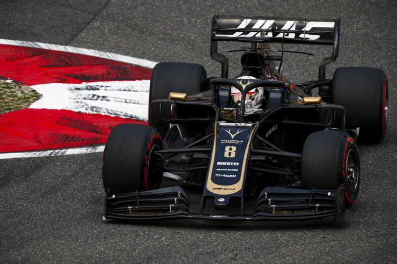 Reifen und Frontflügel: Haas-Probleme gehen in China weiter