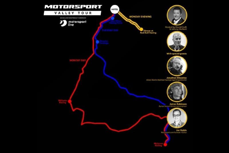 Motorsport Live startet die Motorsport Valley Tour