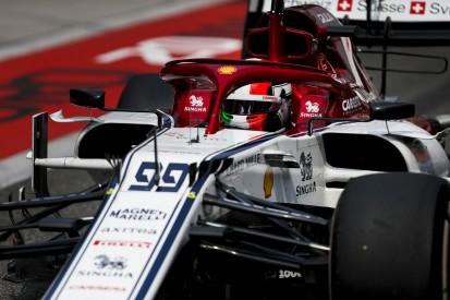Alfa Romeo nicht in Q3: Teamchef verteidigt Antonio Giovinazzi