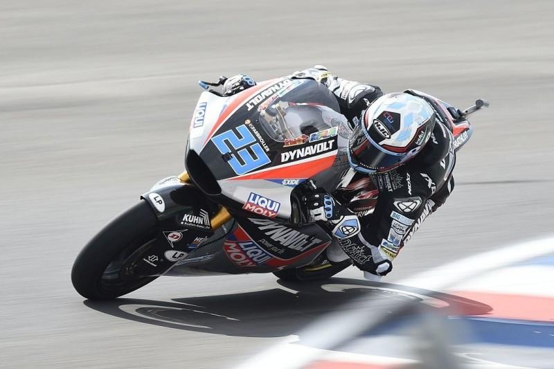 Moto2 Austin Qualifying: Schrötter feiert zweite Pole seiner Karriere