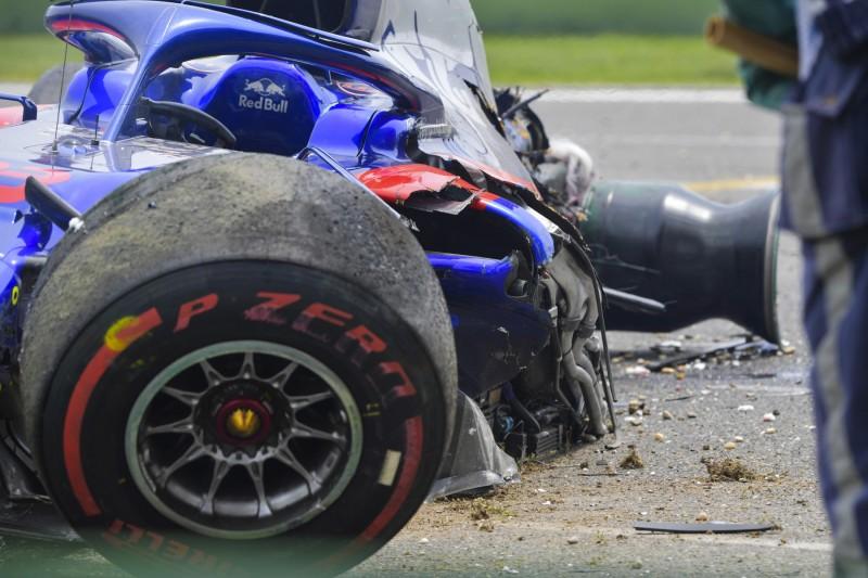 Albon nach schwerem Crash: Das war doch nur ein Klacks!