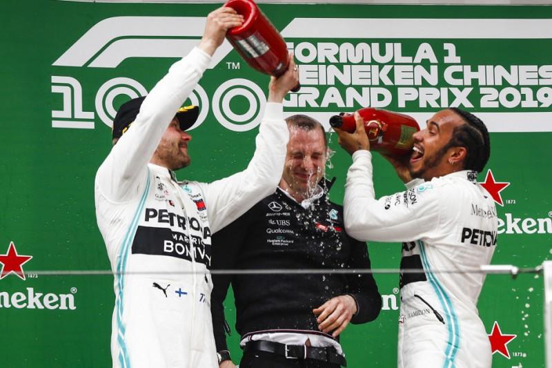 Auf den Spuren von Williams: Mercedes feiert besten Saisonstart der Geschichte