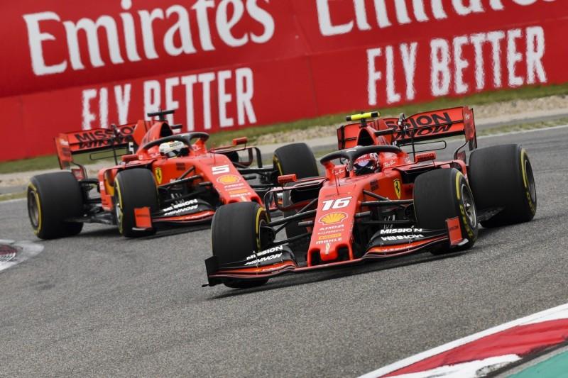 Leclerc geopfert: Ferrari-Stallregie auch in China wieder im Mittelpunkt