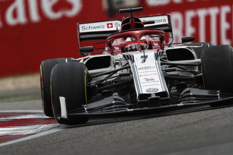 Kimi Räikkönen auf P9: Zu wenig Temperatur in den Vorderreifen