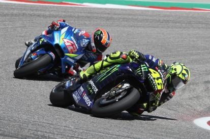 """Rossi verpasst Austin-Sieg knapp: """"Rins war schneller als ich"""""""