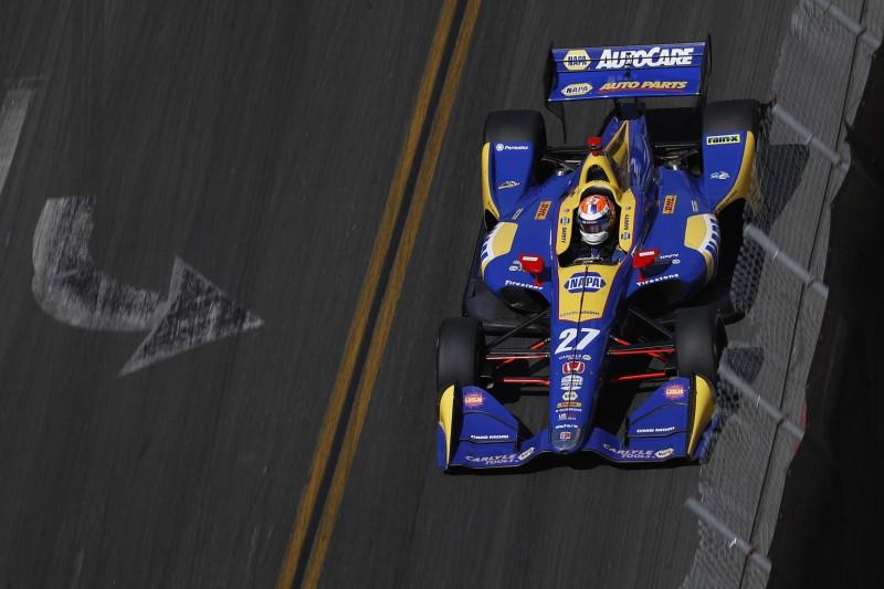 IndyCar Long Beach: Alexander Rossi siegt souverän