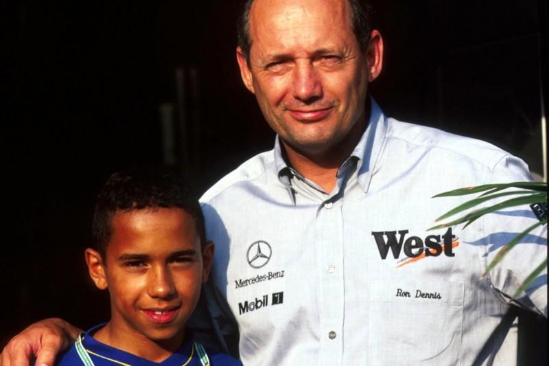 Lewis Hamilton: Wie ein Elfjähriger ihn an den Belgien-Grand-Prix 1996 erinnert