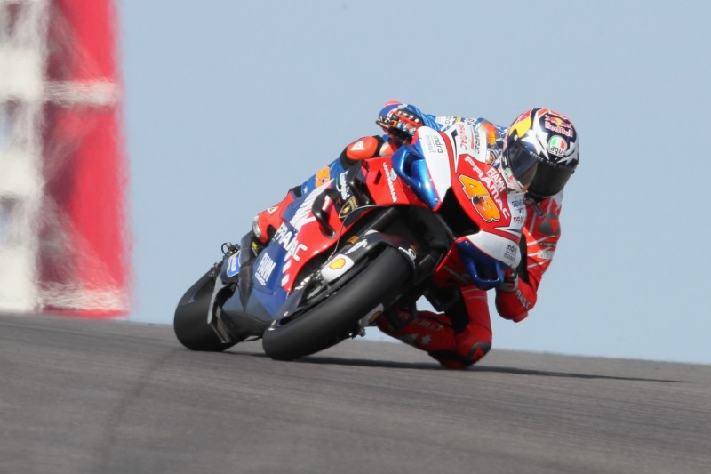 Jack Miller trotz Reifenproblem beste Ducati in Austin