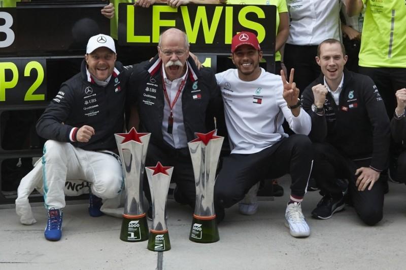 """Jackie Stewart: """"Glücklicher"""" Hamilton vor allem wegen Mercedes erfolgreich"""