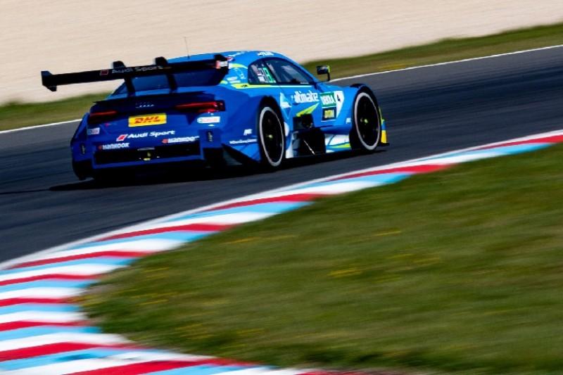 DTM-Test Lausitzring: Fittipaldi überzeugt bei erneuter Audi-Dreifachführung