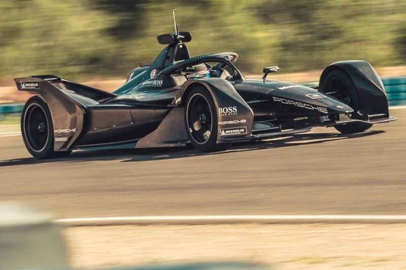 Porsche fährt beim Formel-E-Test mehr als 1.000 Kilometer