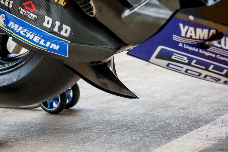 """Valentino Rossi macht Yamaha Druck: """"Brauchen auch Hinterrad-Flügel"""""""