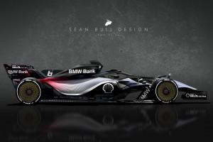 Vision: So könnte ein Formel-1-BMW für 2021 aussehen!