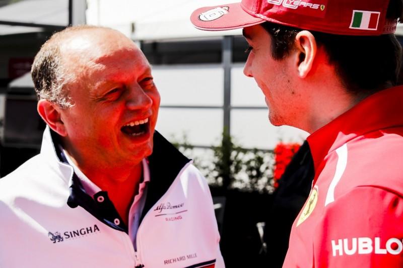 """Vasseur über Leclerc: """"Wird nicht lange auf einen Sieg warten müssen"""""""