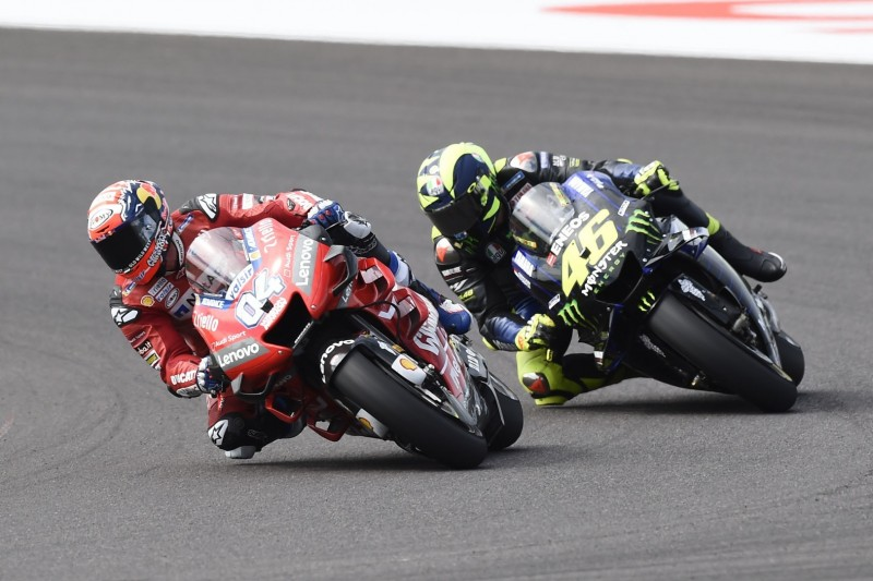 MotoGP mit 40: Dovizioso hätte an Rossis Stelle längst aufgehört