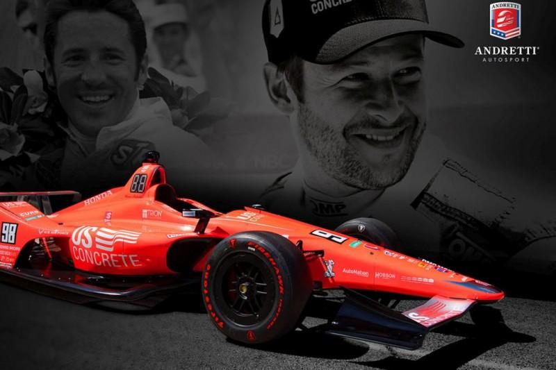 Andretti-Familie sagt Indy-500-Fluch den Kampf an: Marco im Jubiläumsdesign