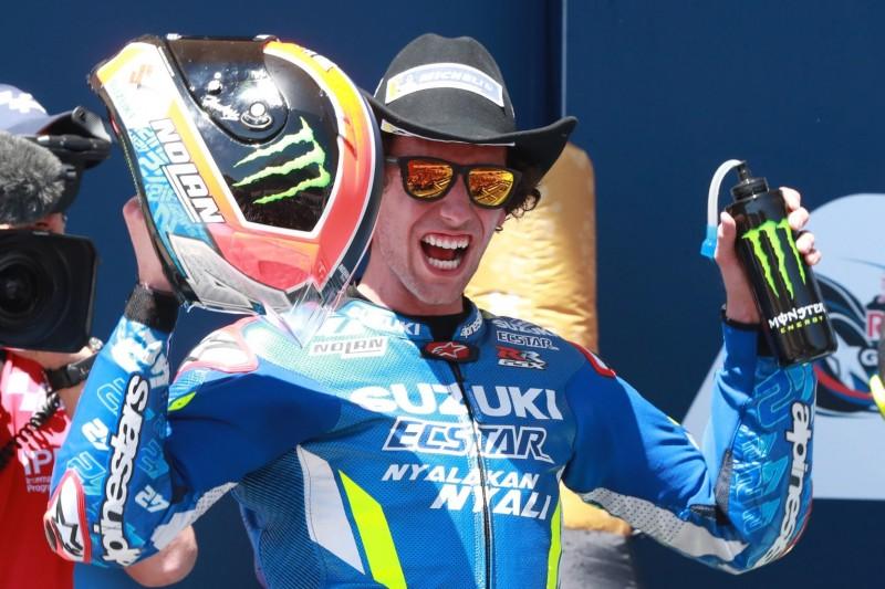 """Suzuki-Sieg von Alex Rins: Hopkins hat """"nicht so schnell damit gerechnet"""""""