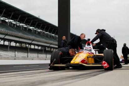Indy-500-Vortest: Sato-Bestzeit und Alonso-Defekt an verkürztem Testtag