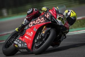Regen beim Ducati-Test in Imola: Glück für Alvaro Bautista, Pech für Chaz Davies
