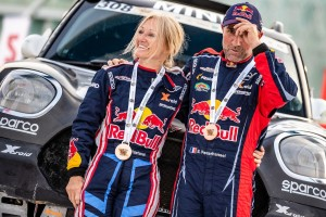 Stephane und Andrea Peterhansel treten gemeinsam bei der Rallye Dakar 2020 an