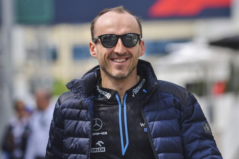 """Kubica: Trotz aussichtsloser Williams-Lage hat er """"Spaß"""""""