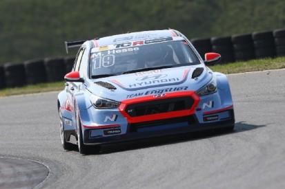 TCR Germany: Hyundai-Fahrer Hesse im ersten Training vorne