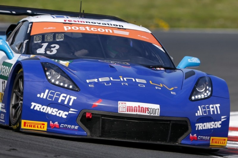 Corvette mit erster Bestmarke beim Saisonauftakt des GT-Masters