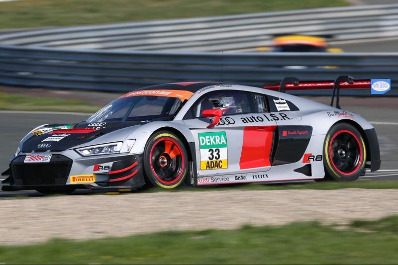 GT-Masters: Audi-Fahrer Salaquarda Schnellster im zweiten Training