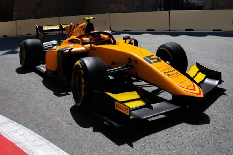 Formel 2 Baku: Jack Aitken siegt - Mick Schumacher fällt nach Dreher aus