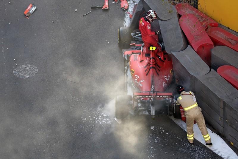 Hat Ferrari Mitschuld am Leclerc-Crash? Vettel sagt nein, Rosberg sagt ja!