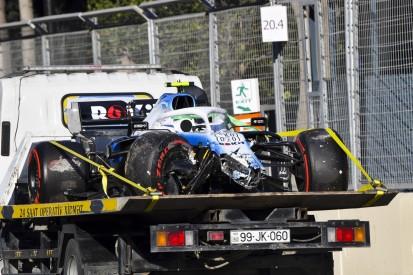 """Kubica-Crash in Baku: Ob 21G oder 18G """"spielt keine Rolle"""""""
