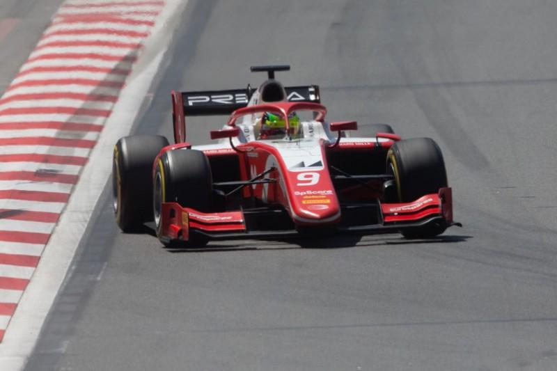 """Schumacher mit Aufholjagd im F2-Sprintrennen: """"Da war mehr drin!"""""""