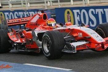 Vallés maakt F1-debuut in nieuwe Spyker MF1