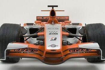Spyker MF1-team blij met nieuwe kleurstelling