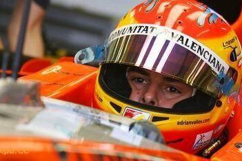 Vallés positief over eerste Formule 1-test