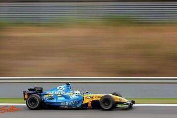 """Fisichella: """"Het ziet er goed uit voor Renault"""""""