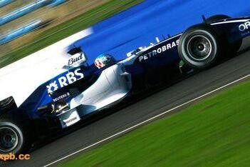 Williams past livery aan voor Bank Of China