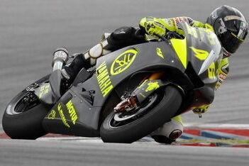Rossi naar snelste tijd in Sepang