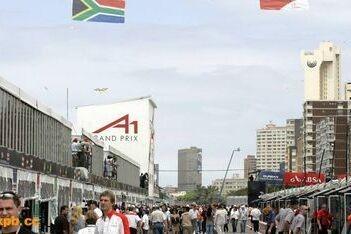 Ondernemers Durban klagen over A1 Grand Prix