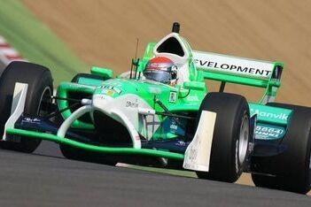 Watson in actie met Team Ierland-auto