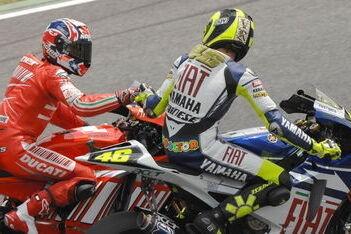 "Rossi: ""Stoner reed vandaag als een god"""